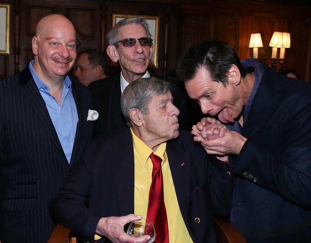Jim Carrey Celebrates Jerry Lewis Birthday