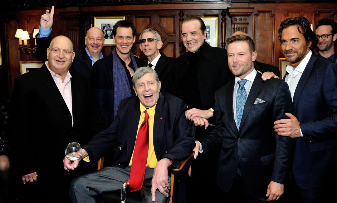 Jim Carrey Celebrates Jerry Lewis Birthday