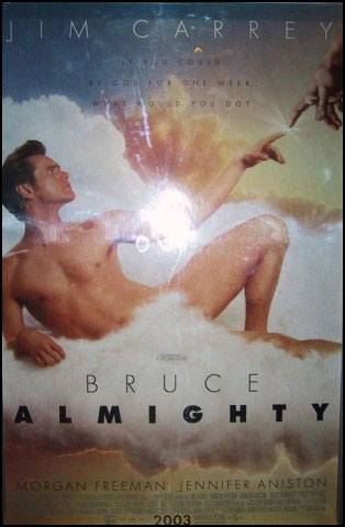 international Bruce Almighty poster