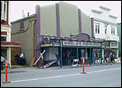 The Ferndale Repertory, the 'real' town theater, disguised as a hardware store